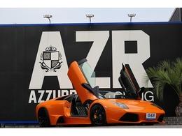 ランボルギーニ ムルシエラゴロードスター ロードスター ガラスエンジンフード カーボンインテリア ヘルメラホイール