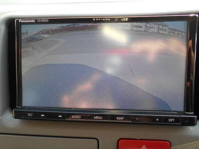 バックカメラ装備!レジアスエースは長さのある車なので安心ですね!