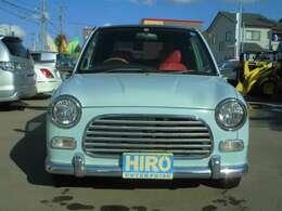 初代ジーノはレトロなスタイルで人気です。