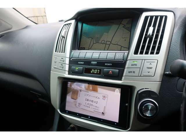 【カロッツェリア製SDナビ】地デジフルセグTV・DVDビデオ再生・CDは再生・録音も可能で大変便利です!後退時に安心のバックカメラも装備されています