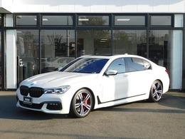 BMW 7シリーズ 750Li Mスポーツ 左HリアエンタメBowers&Wilkins黒革20AW
