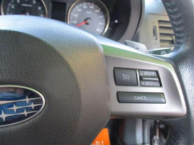 クルーズコントロール付!高速道路等でセットすればアクセル楽々進んでくれます。キャンセルorブレーキで通常走行へ戻ります。