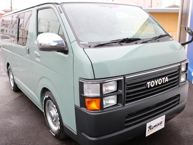 【H22年式】ハイエースV 2.0G 2WD! ボディーカラーはオリーブグレーです。現車一台限りとなりますのでご来店、お問い合わせはお早めに!