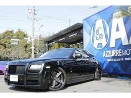 2011y 正規ディーラー車 MANSORYボディキット SKY FORGEDホイール OFK可変マフラー ボディ塗り分け ローダウン 入庫しました!