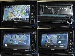 【ナビゲーション】ワイドで明るい液晶画面、簡単な操作方法、多機能ナビゲーション。知らない街でも安心です。 ≪メーカー:ケンウッド  型番:MDV-D707BTW≫