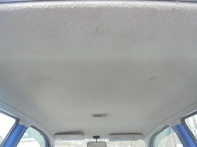 天井もヒドイ汚れや垂れ下がりもございません!