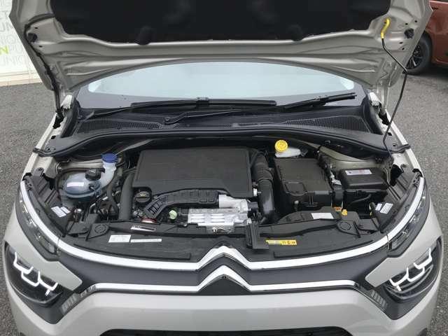アイシン製6AT 1.2L3気筒ターボエンジンとの相性はとても良く快適でノンストレスな運転ができます。