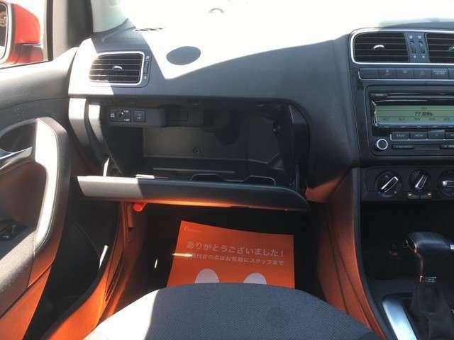☆助手席側グローブボックス☆鍵付きで車内も安全管理できますよ(*^^*)☆