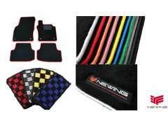 縁取りカラーをお選びいただける車種専用フロアマット(ベーシックタイプ)です。ベースカラーはブラックで縁取りカラーは10色