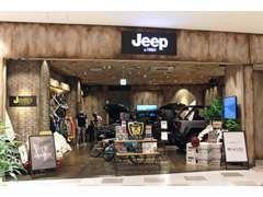 ららぽーと新三郷に「Jeep by VIRKIN」として出店しておりました。車に関わるライフスタイルを提案し、ご好評いただきました!