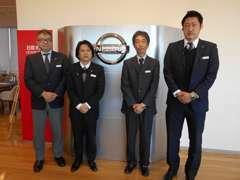 左から田中洋一朗、田中 賢人、西堀,中井戸です。