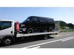 積載車完備、レッカー搬送対応で急なトラブルも安心!