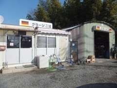 納車整備や簡単なチェック・整備はここで行います。