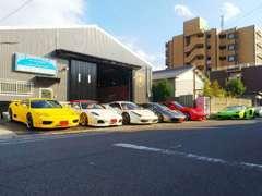 ロッソオートスポーツは、スーパーカー、欧州車を主に取り扱っている、高級輸入車専門店です。