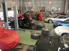 ☆第1工場☆ランボルギーニ フェラーリ ポルシェ ロータス ベンツ BMW ミニ ジャガー 全ての外車輸入車整備修理お任せ下さい。