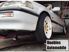自社工場を完備しております。新車・中古車・車検・整備・板金・塗装・保険、お車のことならお任せください!
