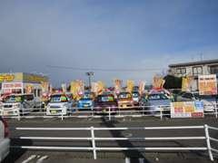 ☆自店の在庫車は、今まで乗っていたお客様からの買取車を展示して販売しています。新鮮!低価格!にこだわります。