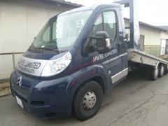 日本で1台しか存在しないシトロエン積載車「アルゲマ」も所有。