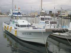 釣り船もありますよ♪釣り好きの方も是非お問い合わせください!!