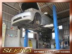 自社工場で車検・鈑金・塗装までお車をフルサポート致します♪他にレッカー車ももちろん、ロードサービスもしっかりサポート♪