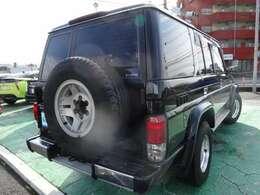 背面タイヤがとても似合います。