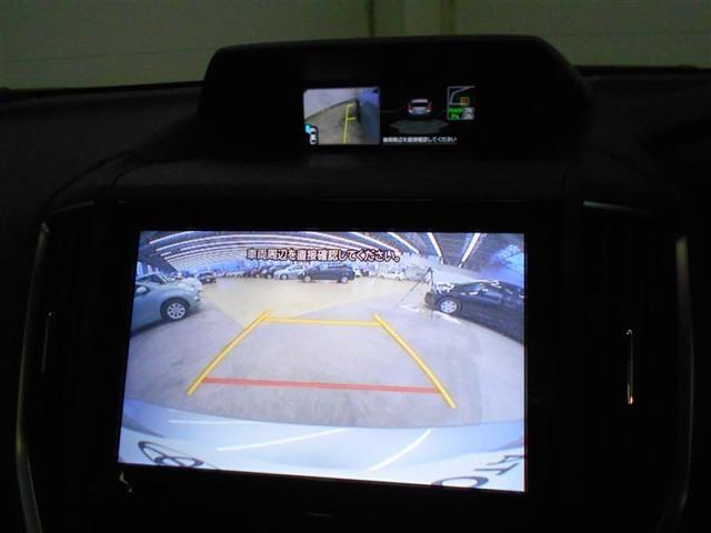 バック駐車が苦手な方でもバックカメラ付なので安心です。