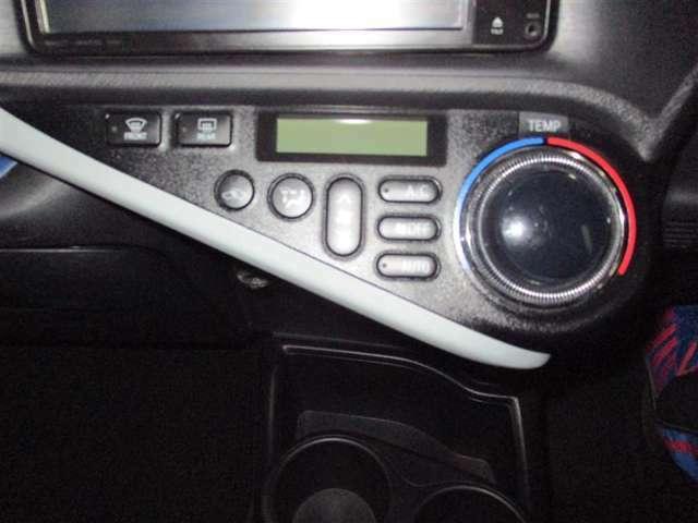 設定した温度に自動で調整してくれるオートエアコン付きです!