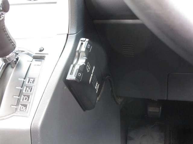 ナビ連動ETC車載器 利用履歴はナビ画面にて確認可能