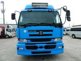 H17 ニッサンディーゼル ビックサム アルミブロック 積載13800kg 走行522000km ボディメーカーヤハタ 内寸長さ9600 幅2400 高さ600