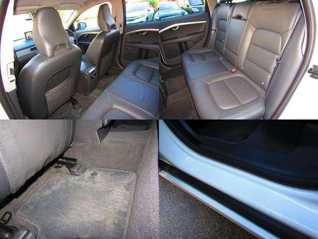 後部座席はタバコのコゲ穴・シートの破れ・シミ汚れなどなく綺麗です。お問い合わせ無料ダイヤル:0066-9711-906926【担当:はら】