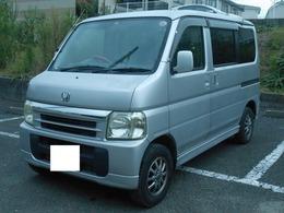 ホンダ バモス 660 L 車検3年3月 社外アルミ CD