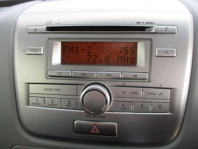 CDコンポです。