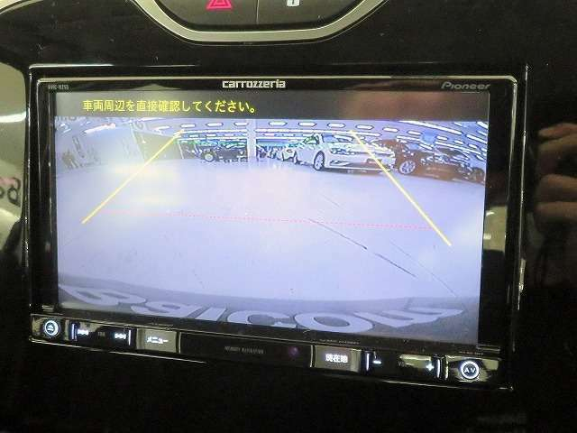 ■駐車するときにバックガイドモニターを見ながら安心して駐車することが出来ます!