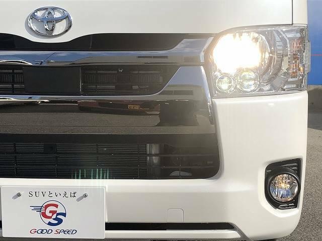 LEDヘッドライトが装備されておりますので透明感ある明るさです!