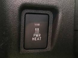 寒冷地仕様専用、パワーヒーターが装備されておりますのでエンジンが暖まる前にヒーターの使用が可能です!