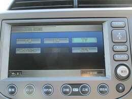 純正HDDナビです。DVD/CD再生のほかワンセグTV、ミュージックサーバーが装備されとっても便利です!
