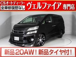 トヨタ ヴェルファイア 2.4 Z 新品黒本革/新品20AW新品タイヤ/モデリスタ