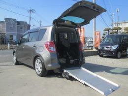 トヨタ ラクティス 1.5 G ウェルキャブ 車いす仕様車 タイプI 助手席側リヤシート付 福祉車両 スローパー ナビ ETC Bモニター付