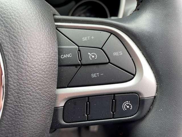 クルーズコントロール搭載で長距離の運転も快適です