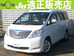 トヨタ アルファード 3.5 350G Lパッケージ 4WD ツインナビBモニ両電サンルーフ革シート