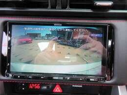 ケンウッドメモリーナビ付き♪ バックカメラ付きで、駐車も安心ですね♪ 広角のカメラとなります♪