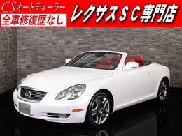 レクサス SC 430 赤本革/Mレビンソン/Sヒーター/20AW