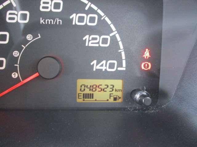走行少なめ48523kmです。