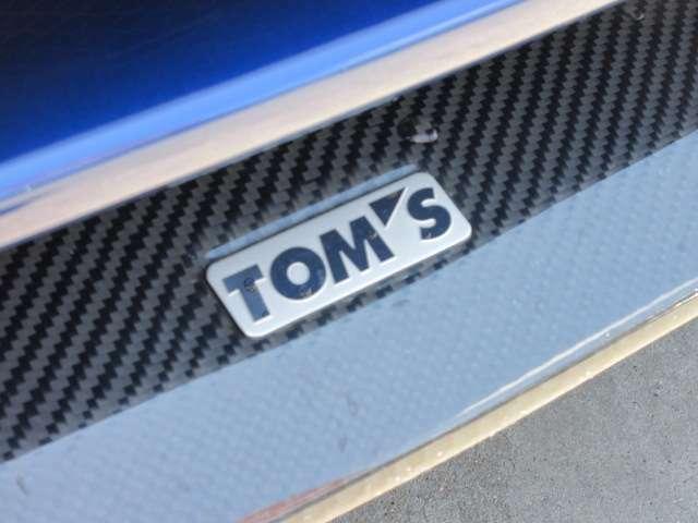 トヨタの誇るスポーツブランド「トムス」♪ 86では、とても珍しいエアロとなります♪ 新車時はとても高価なモデルとなります♪