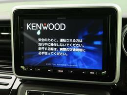 KENWOOD8型ナビ付き!地デジTV、DVD再生、Bluetooth機能も有り。