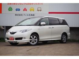 トヨタ エスティマハイブリッド 2.4 G 4WD メーカーナビTV 寒冷地 1500W電源