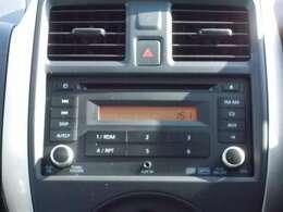 【オーディオ】CD・AM/FMラジオ♪