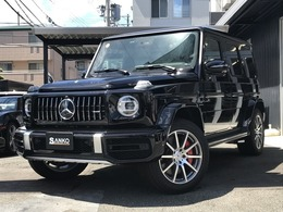 メルセデスAMG Gクラス G63 4WD AMGレザ-エクスクル-シブPKG黒革ナビ地デジ