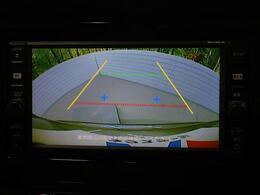 便利な【バックモニター】で安全確認もできます。駐車が苦手な方にもオススメな便利機能です