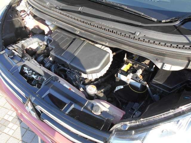 ご納車前に「車検整備または12ヶ月法定点検(無償)」作業します!お客様に安心と安全をお届け致します!エンジンオイル、バッテリーなど消耗部品や、不具合箇所が対象となります!